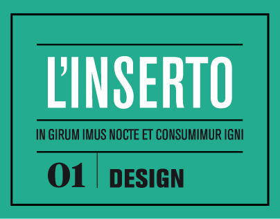 Linserto 01 - special section of the magazine IL