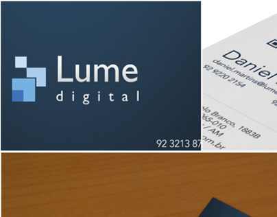 [Lume Digital] Visit Card