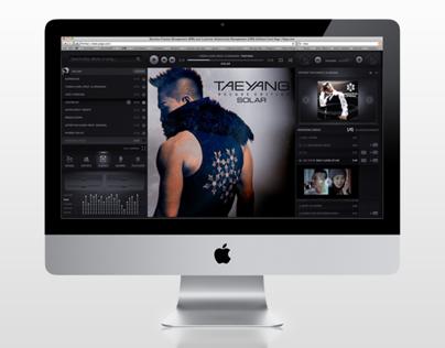 2AM Music Player UI Design