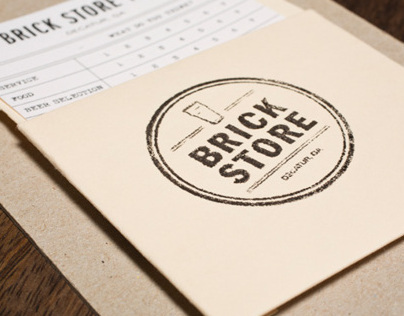 Brick Store Pub Rebrand Illustrations