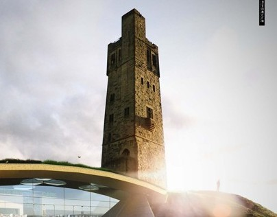 The Castle Hill project, architectural visualisation