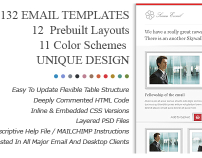 SUCCESS Email Newsletter Templates