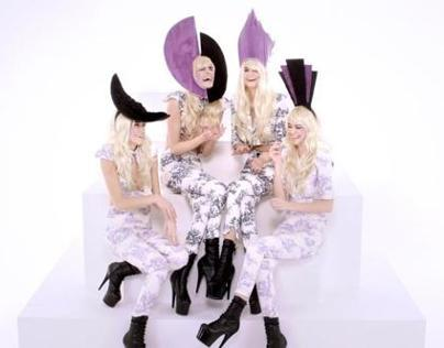 CHARL DE JOUY Fashion Film for Charlie le Mindu AW12