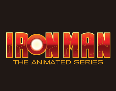IRON MAN the animated series logo