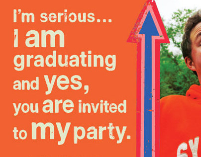 Riley Morin Graduation Party Invite