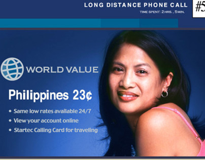 Startec Global Telecommunications: World Value Ads