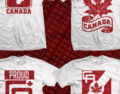 CANADA SHIRTS DESIGN BY: ERIB MANDIA