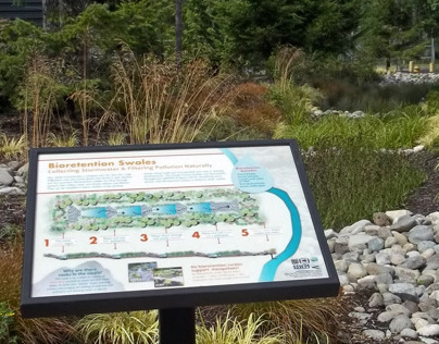 Kitsap County Stormwater Interpretive Signs