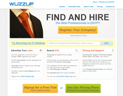 Wuzzuf.com | Employer UI v1