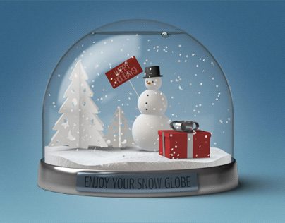DOA Snow Globe Construction Kit