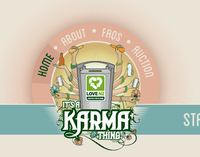 Its a Karma Thing - Integrated - LoveNZ