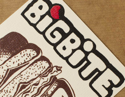 Big Bite (Concept Corporate Identity)