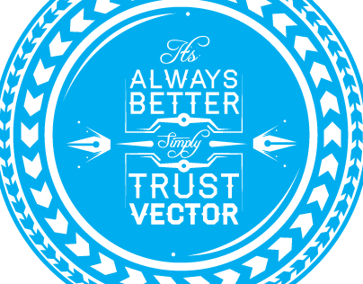 Trust Vector Sticker Series