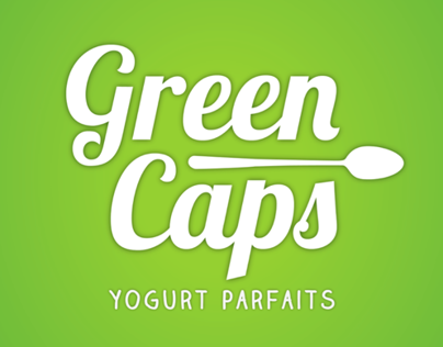 Logo Green Caps