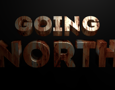 Going North Film Title Animation