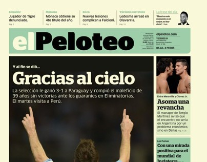Newspaper / Diario El Peloteo