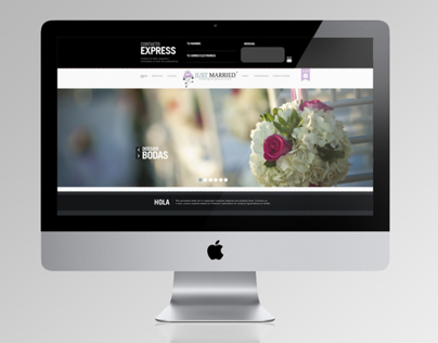Just Married Website Design & Development