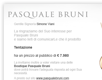 Newsletter for Pasquale Bruni