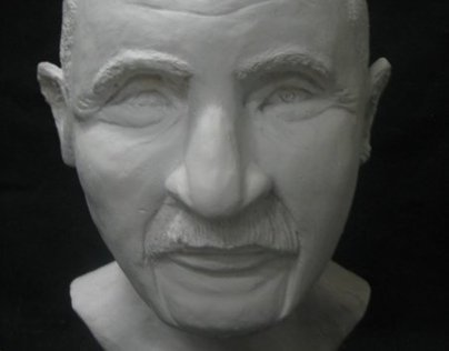 George Washington Carver Portrait Bust