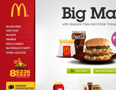 McDonalds Philippines Official Website