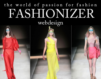 Web Design - FASHIONIZER