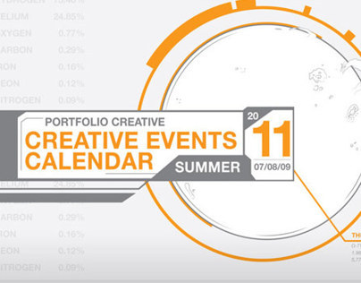 Portfolio Creative | Summer Events Calendar