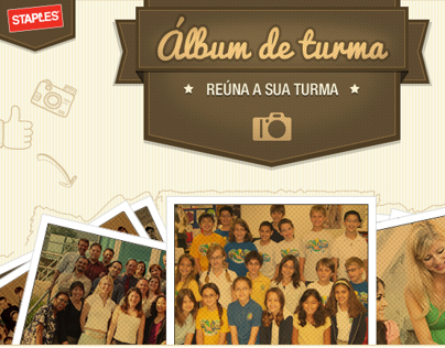 STAPLES - Álbum de Turma