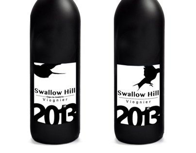Swallow Hill Wine Bottle/Label