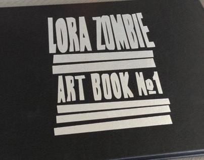 LORA ZOMBIE ART BOOK №1