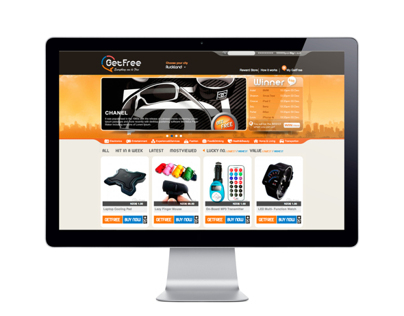 Get Free Web Store ( Website Design Part )