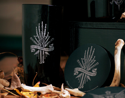 Dark Prayers - Limited Black Glassware Set
