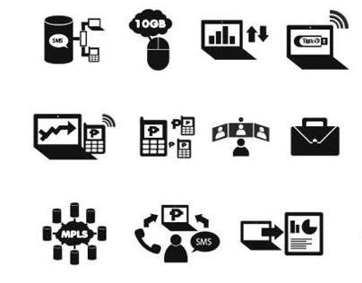 Globe Business Icons