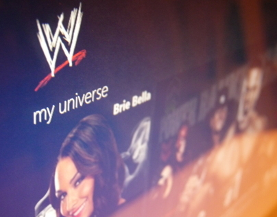 WWE Windows 8 application
