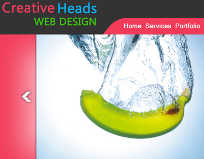 creative heads web design