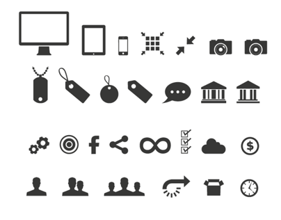 Various simple icons