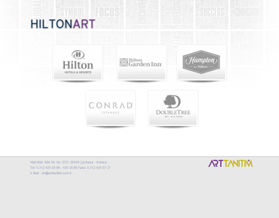 HILTON ART | COLLATERAL VISUAL GUIDE | ASP&CSS