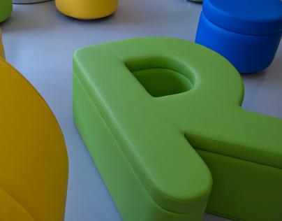 moebel - typographic furniture
