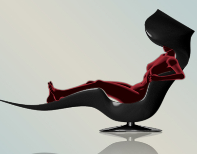 THE WHALIEN LOUNGE CHAIRS by Ron Hahn