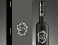 "Vodka ""White Gold"" Black Edition"