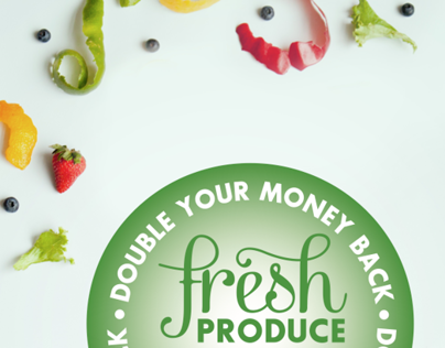 Food Lion Produce Signage Concept