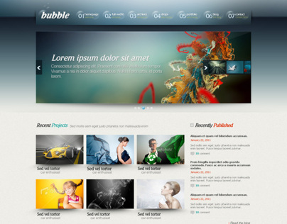 bubble theme