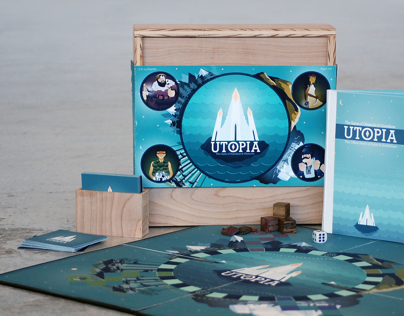 Utopia Board Game