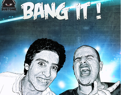 Adam M & Luca ETB , Bang It Album Art