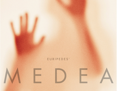 Poster design for Clemson Players Medea