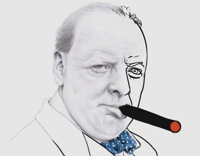 Winston Churchill for The New York Times