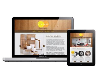 lighart identity and website