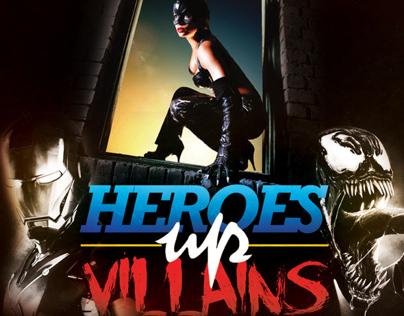 Heroes vs Villains 2012 Poster