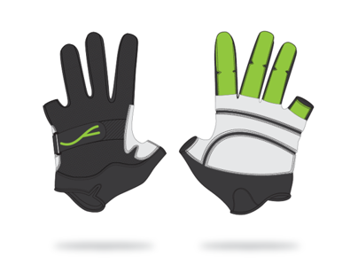 Fluescent Freerunning Gloves