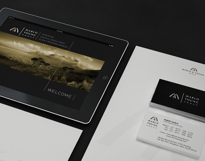 Identity design: Marlo Young Group