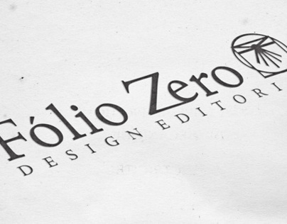 Fólio Zero - Design Editorial